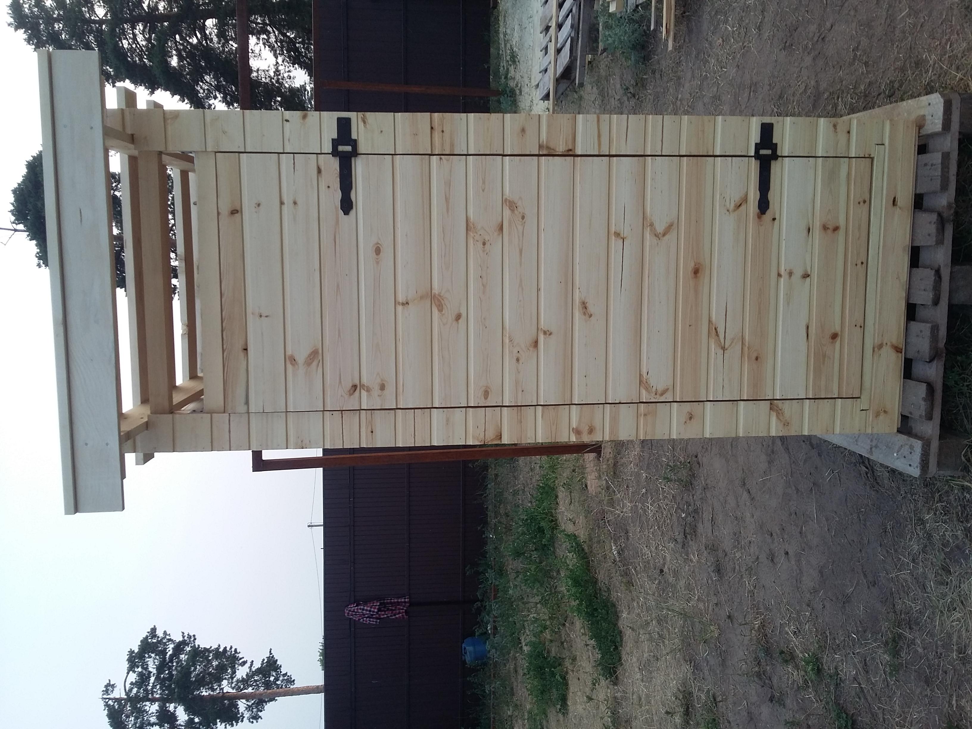 Купить деревянный туалет в Ступино