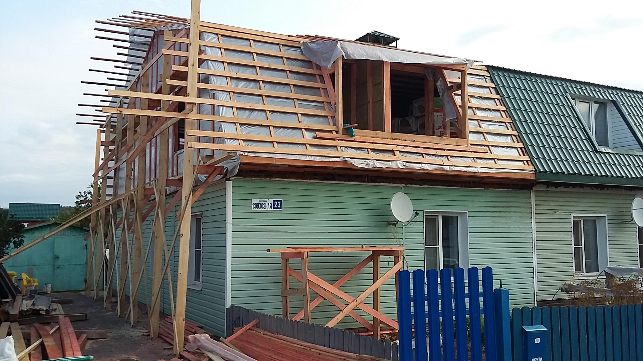 Покрыть крышу в Ступино