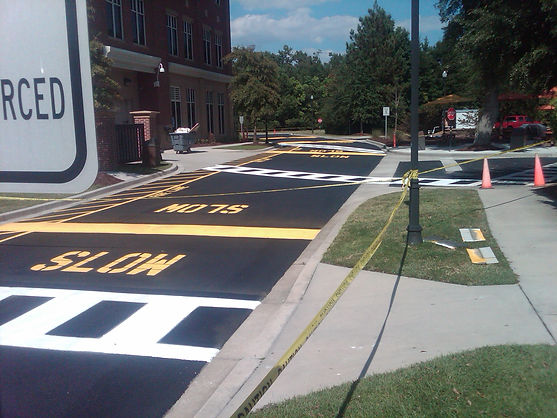 Crosswalks and Sealing