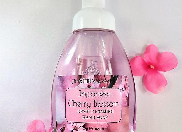 Japanese Cherry Blossom Gentle Foaming Soap 8.5 oz