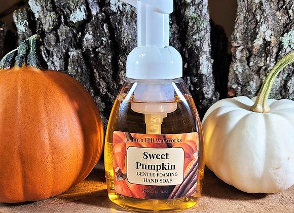 Pumpkin Pie Gentle Foaming Soap 8.5 oz