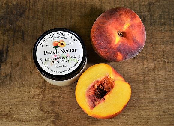Sugar Body Scrub Peach Nectar 4 oz