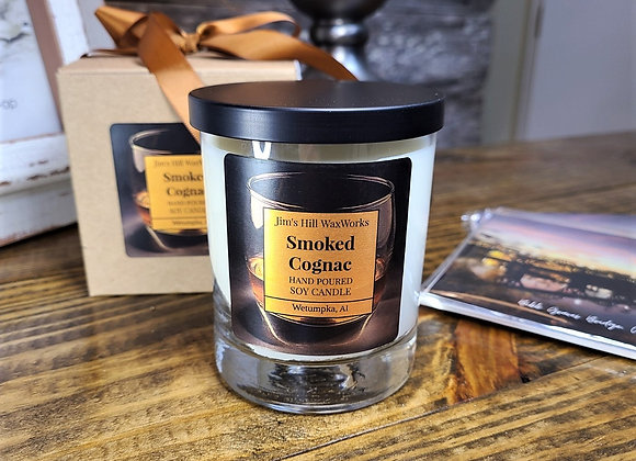 Smoked Cognac Soy Candle