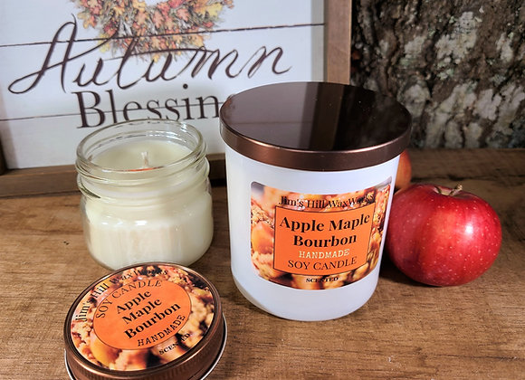 Soy Candle Apple Maple Bourbon
