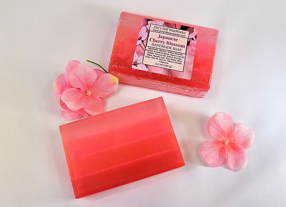 Japanese Cherry Blossom Handmade Soap