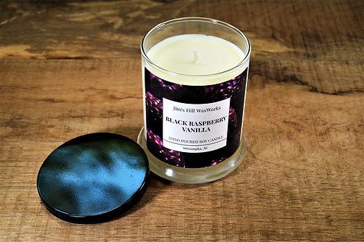 Soy Candle Black Raspberry Vanilla