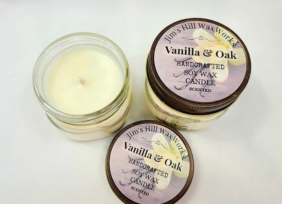 Soy Candle Vanilla Oak