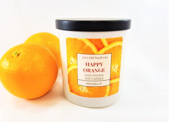 Soy Candle Happy Orange 9 Net. Wt. Wholesale