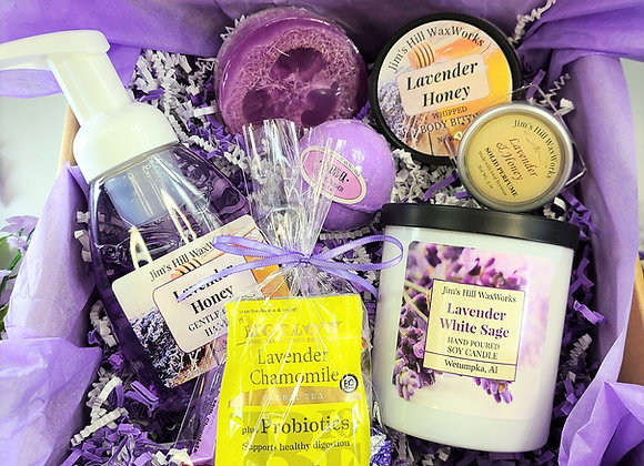 Lavender Dream SPA Gift Set