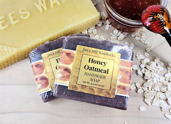 Artisan Soap Honey & Oatmeal