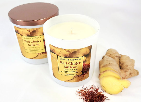 Soy Candle Red Ginger Saffron 9 Net. Wt. Wholesale