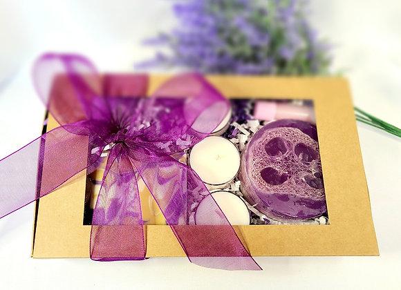Lavender Honey Handmade Soaps Gift Set