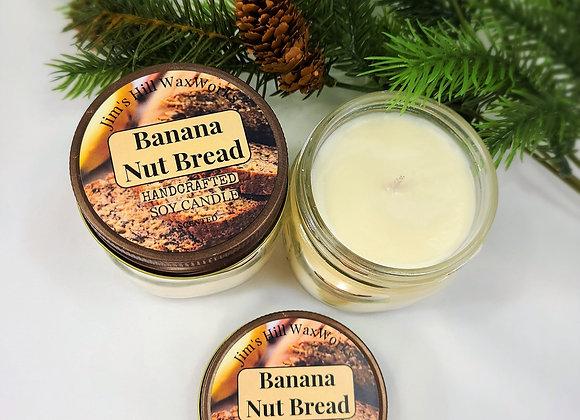 Soy Candle Banana Nut Bread Mason Jar