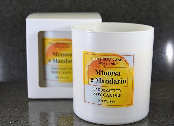 Mimosa & Mandarin Soy Candle