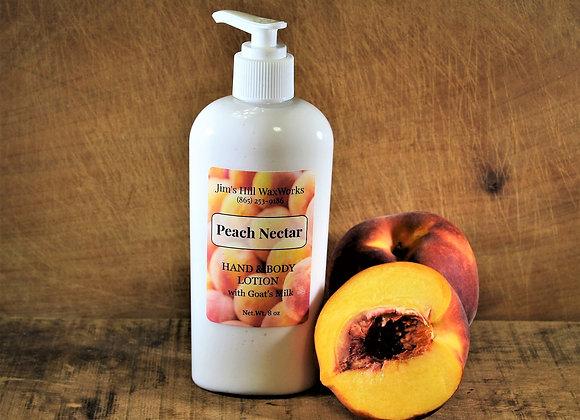 Goat's Milk Hands & Body Lotion Peach Nectar