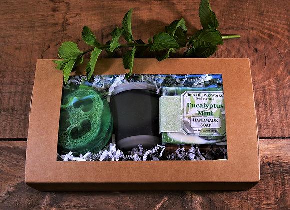 Eucalyptus Mint Handmade Soaps Gift Set