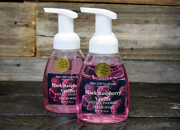 Gentle Foaming Soap Black Raspberry Vanilla 8.5 oz (Quantity of 6 bottles)