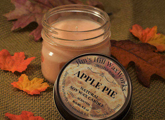 Soy Wax Candle Apple Pie 4.5 oz