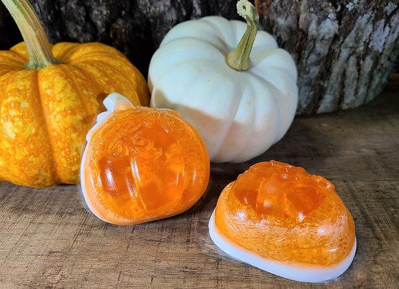 Sweet Pumpkin Loofah Soap