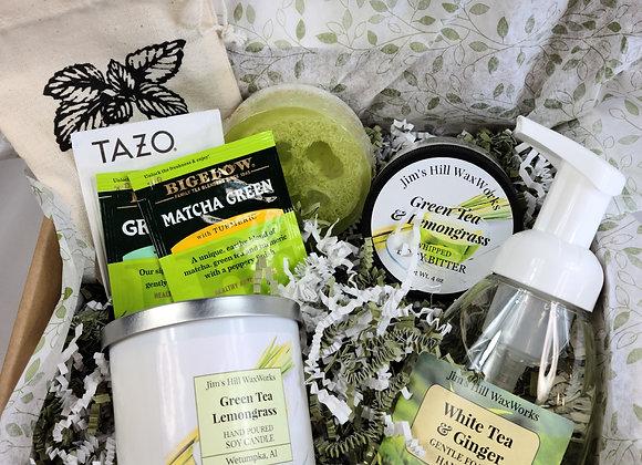 Amazing Green Tea SPA Gift Set