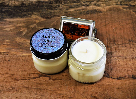 Soy Candle Amber Noir