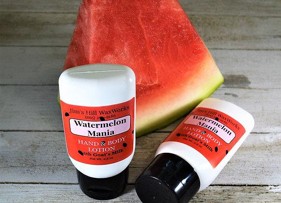 Goat's Milk Hands & Body Lotion Watermelon Mania