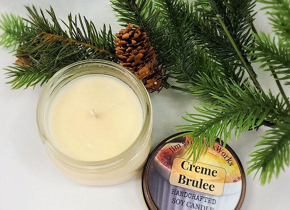 Soy Candle Creme Brule Mason Jar