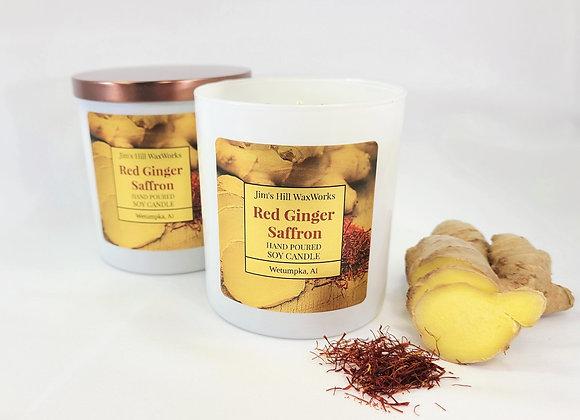Soy Candle Red Ginger Saffron 9 Net. Wt.