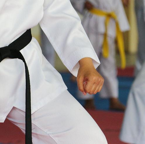 Taekwondo kids athletes. Moment of athle