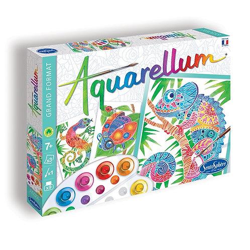 """Aquarellum """"Zentangle"""" - Sentosphère"""