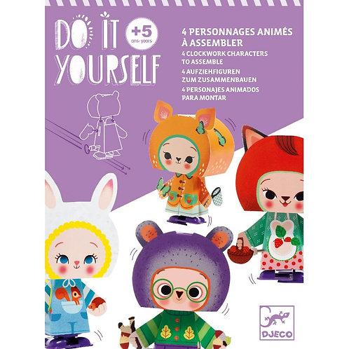 Personnages animés DIY - Mignons de la forêt - Djeco