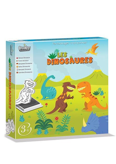Tampons : Les Dinosaures
