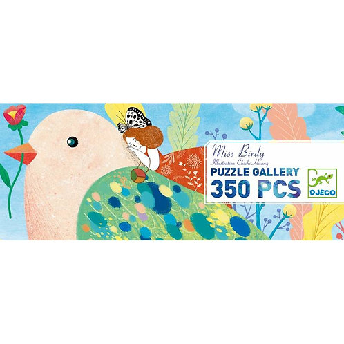 Puzzle - Miss Birdy - 350 Pces - Djeco