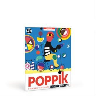 """Poppik - Panorama en gommettes """"Modern Art"""""""