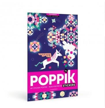 Poppik Constellations - Poster en stickers