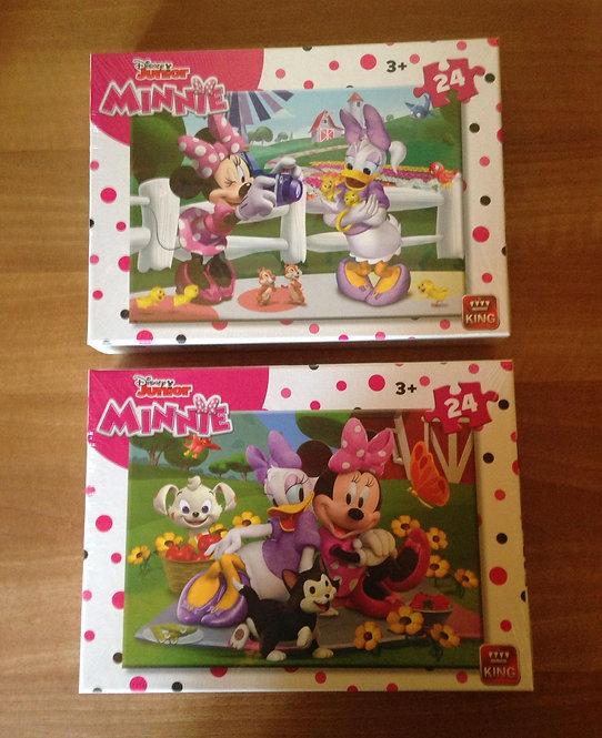 Puzzle - Minnie - 24 pièces