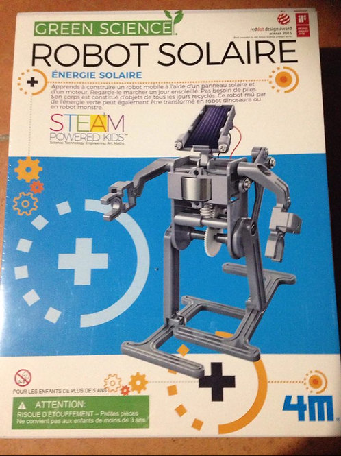 Robot solaire - Green Science