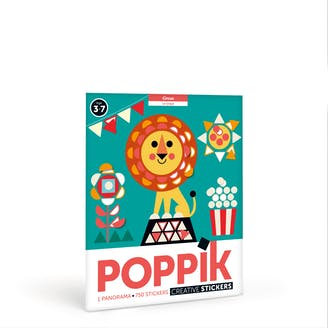 "Poppik - Panorama en gommettes ""Circus"""