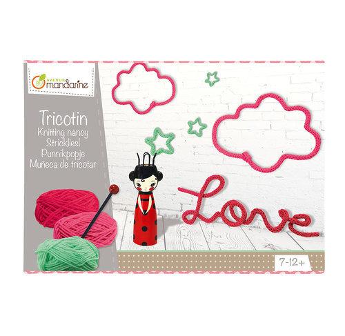 Boite créative : Tricotin