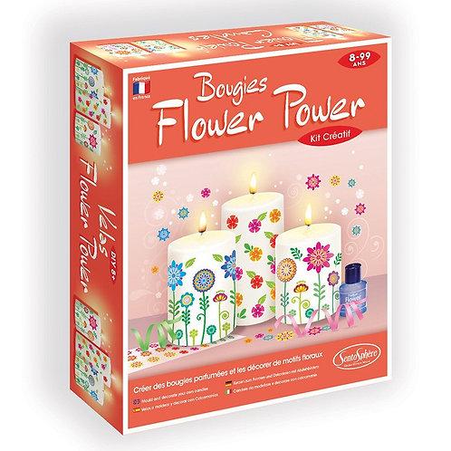 Bougie Flower Power- Sentosphère