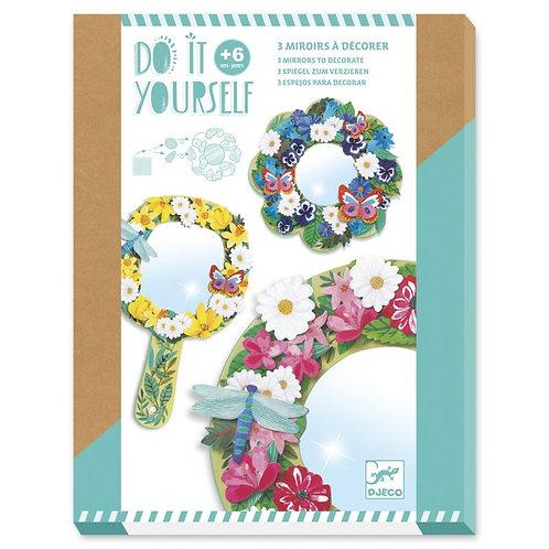 Miroirs DIY - Douceur florale - Djeco