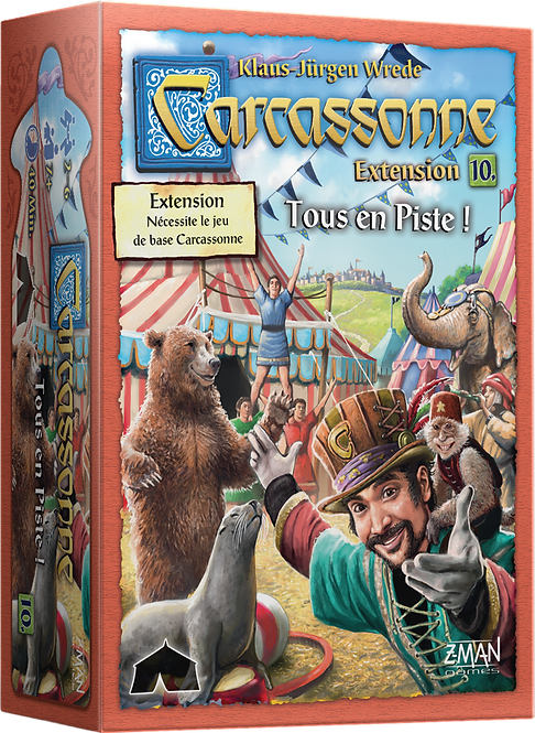 Carcassonne :Tous en piste (EXT)
