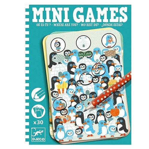 Mini Games - Où es tu ? - Djeco