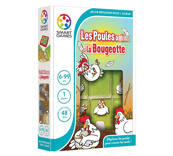 Smart Games - Les poules ont la bougeotte