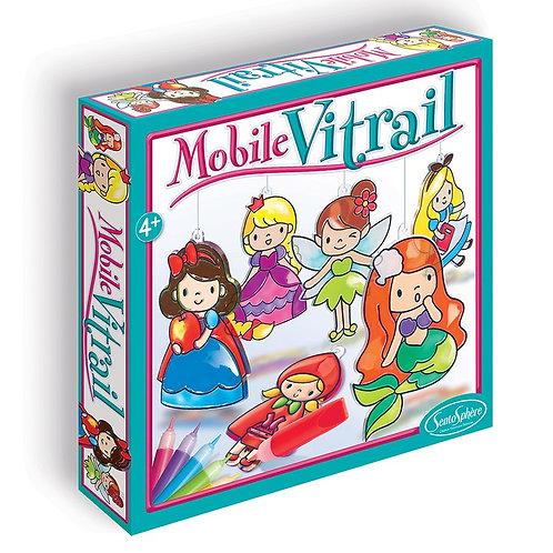 Kit mobile vitrail 'Princesses' - Sentosphère