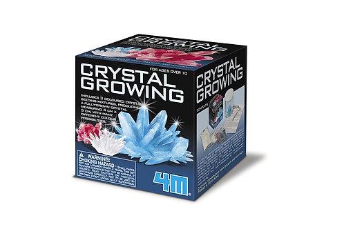 Croissance de cristaux