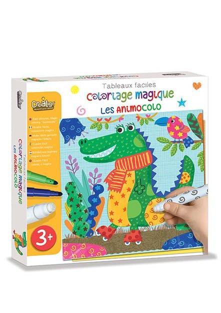 """Coloriage magique """" Les Animocolo"""""""