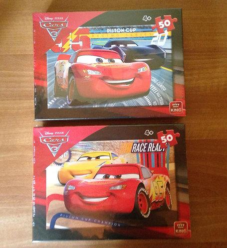 Puzzle - Cars - 50 pièces