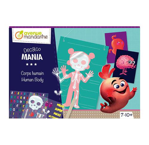 Boîte créative - Decalco Mania - Corps humain
