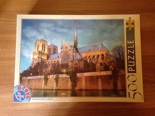 Puzzle - Notre-Dame - 500 pièces